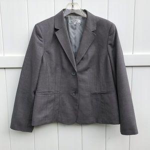 Kasper Petite Suit Jacket Blazer Womens Size 16P